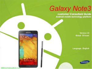 Samsung_Galaxy_Note3_FAQS_Customer_Consultant_Guidep_cover