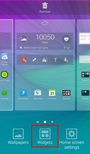 add_widgets_to_Galaxy_Note_4_home_screen_editing_mode