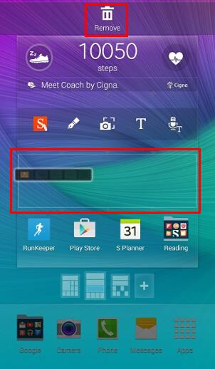 How to add widgets to Galaxy Note 4 home screen? - Galaxy Note Tips