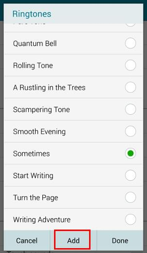 How to customize Galaxy Note 4 ringtones? - Galaxy Note Tips