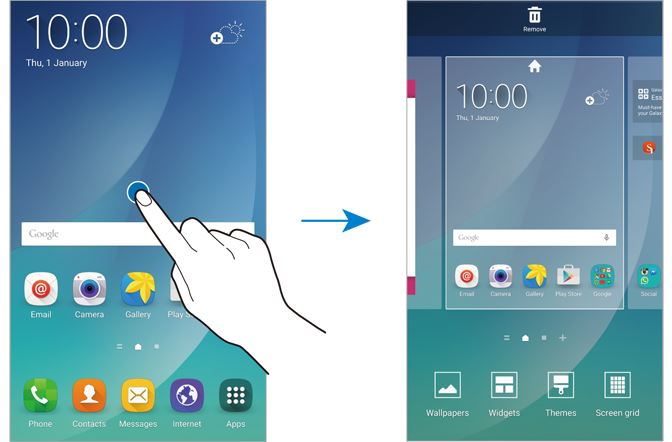 How to disable flipboard briefing on Galaxy Note 5? - Galaxy Note
