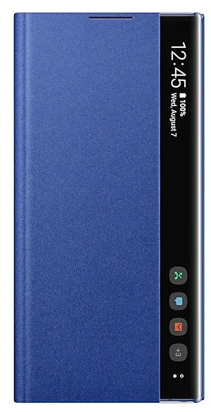 Galaxy Note 10 clear view cover